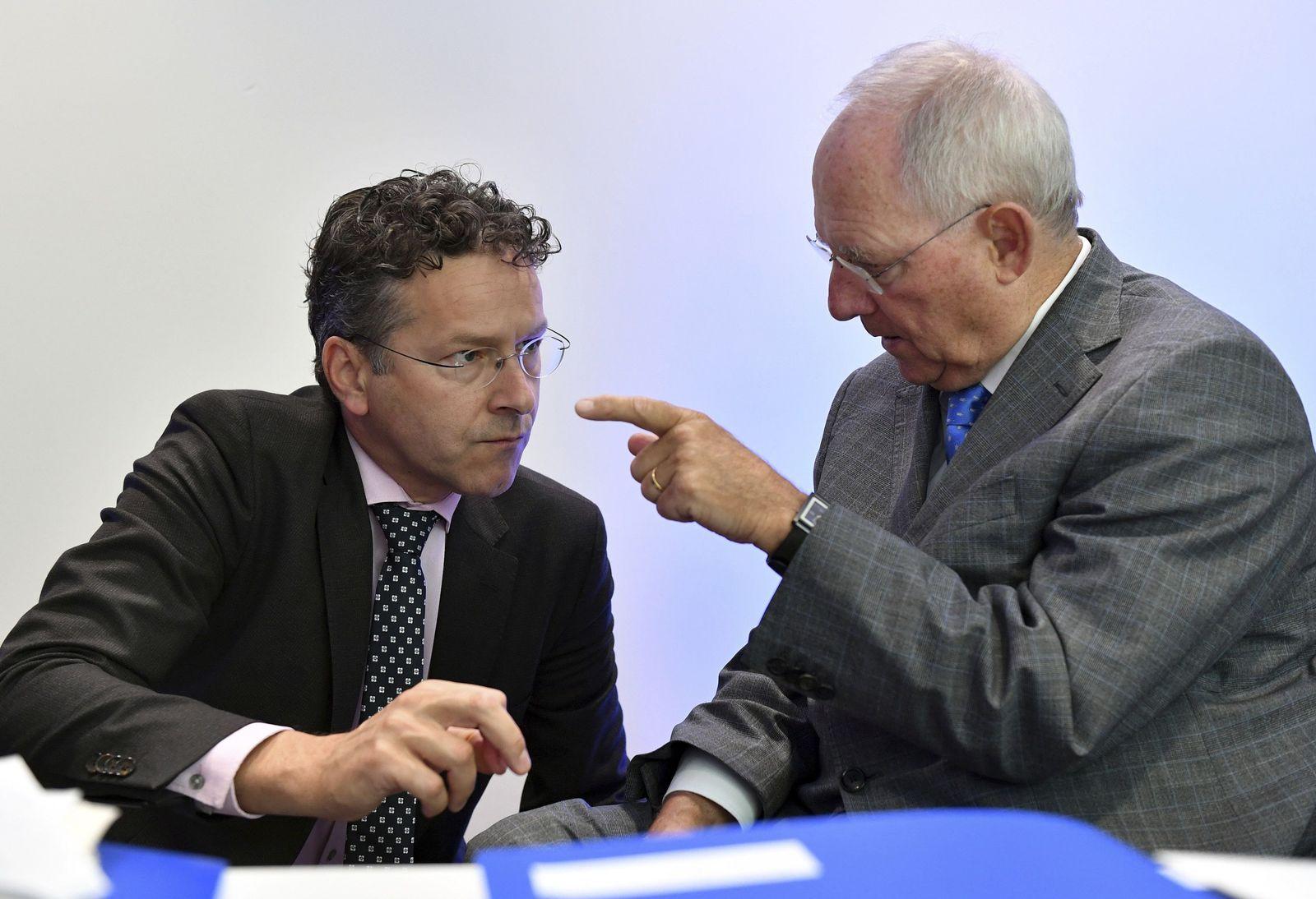 Schäuble Dijsselbloem