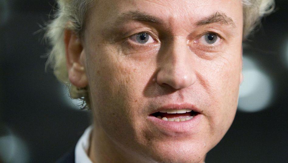 Dutch Freedom Party (PVV) leader Geert Wilders.