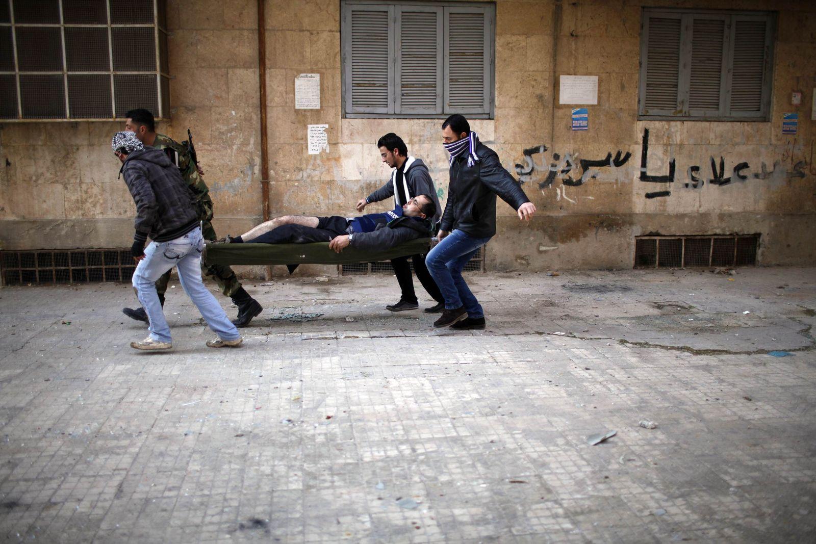 Syrien/ Opfer/ Aleppo