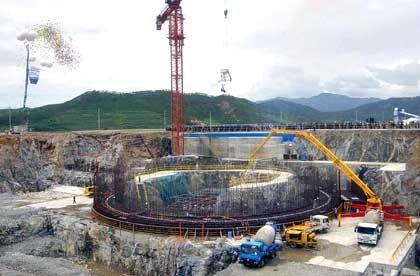 Nordkorea: Der Reaktor von Kumho ist seit 1997 im Bau