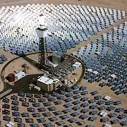 """Solarthermie-Kraftwerk in der kalifornischen Mojave-Wüste: """"Ich bin zuversichtlich, dass die Menschheit gegen Mitte des Jahrhunderts die Hälfte der Energie regenerativ erzeugt"""""""
