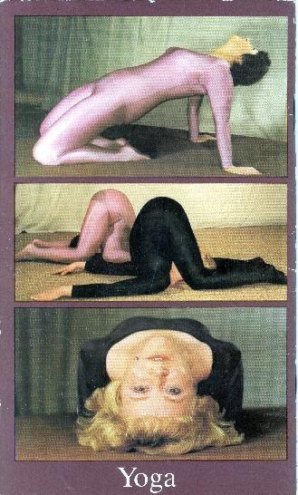 """Motiv aus dem Band """"Gesundheitskur für die Figur mit Yoga""""."""