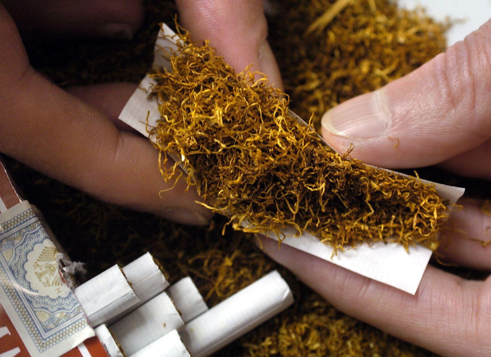 Rauchen / Tabak / Zigaretten / Selbstgedrehte