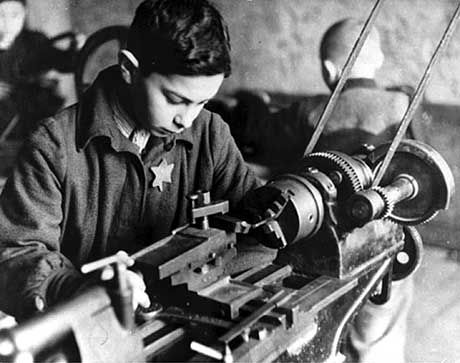 Wasn't this boy too young to be working_ And was he paid or not? All of these questions are used to determine if former ghetto workers get German pensions. Most don't.
