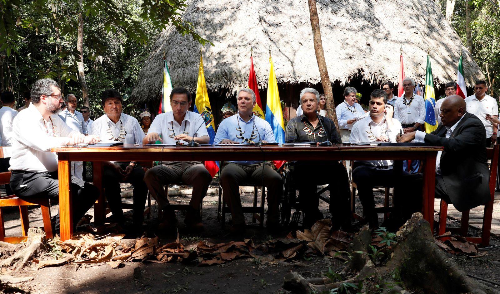 Pakt von Leticia für Amazonien