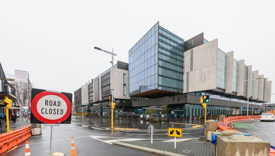Gerichtsgebäude in Christchurch