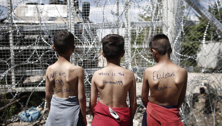 Lager in Idomeni: Das Misstrauen der Flüchtlinge
