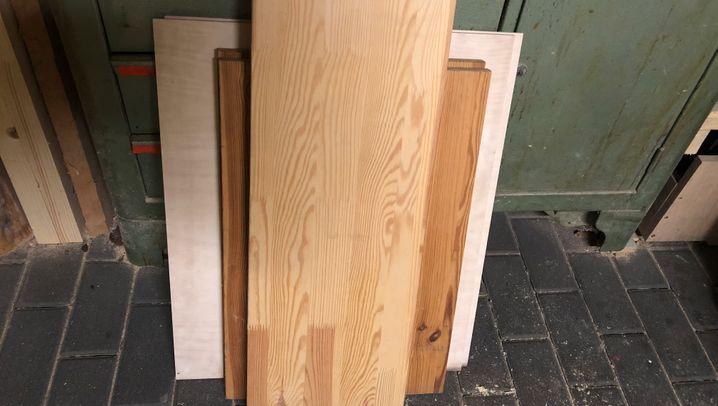 Vom Restholz zur Kiste