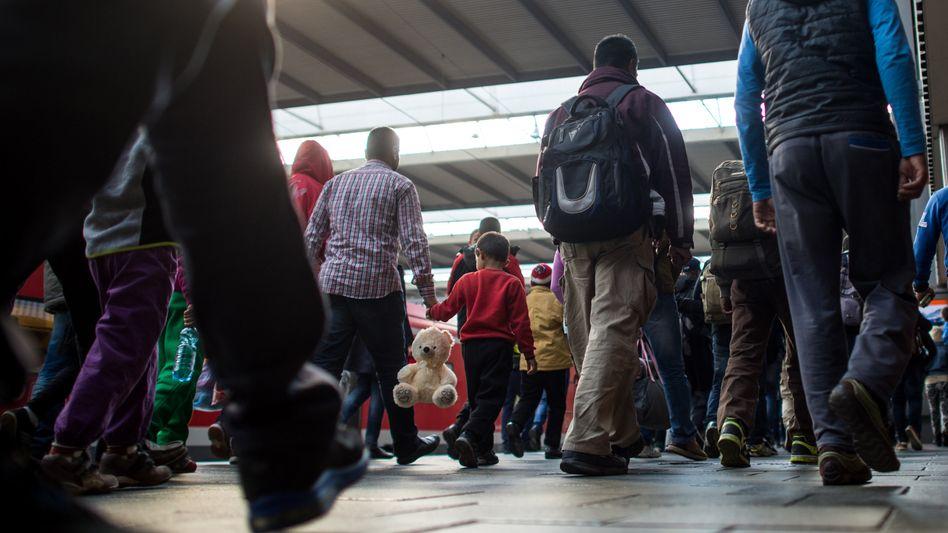 Flüchtlinge in München: Hier werden sie von Salafisten angesprochen