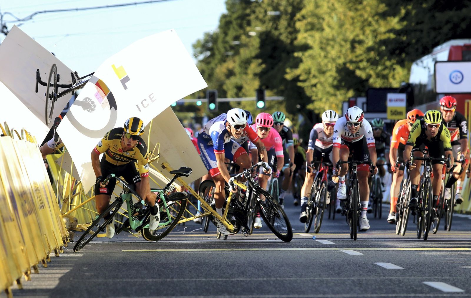 "Erste Etappe der ""Tour de Pologne"""