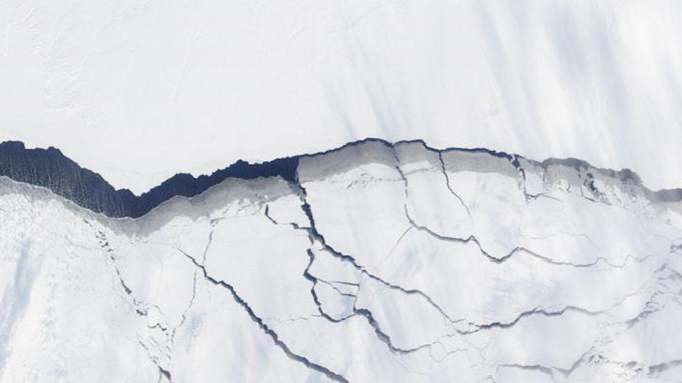 1300-Kilometer-Riss in der Arktis: Bruch im Festeis