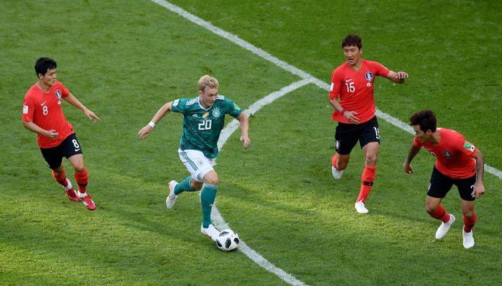 Julian Brandt bei der WM gegen Südkorea