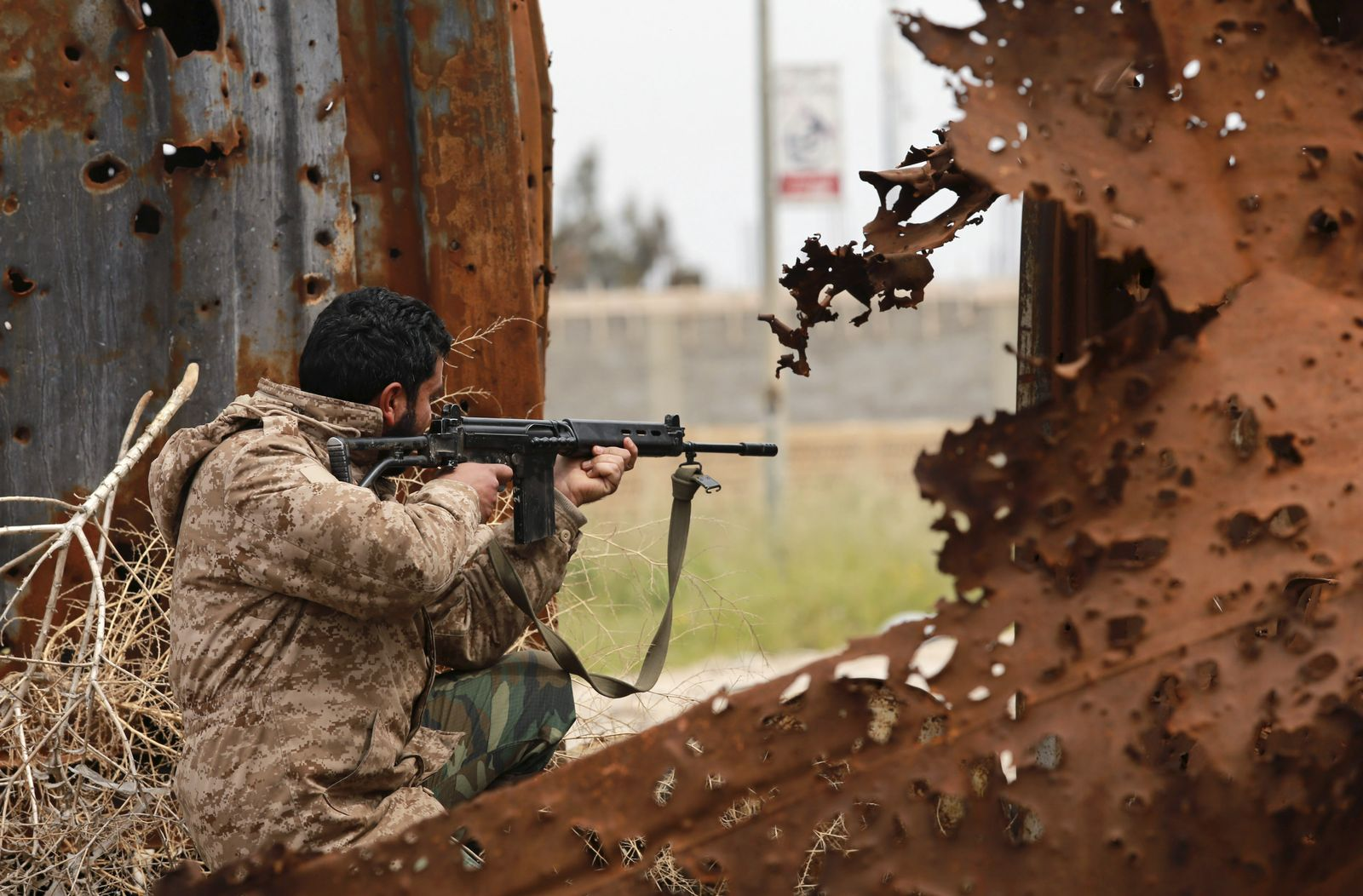 Lybien/ Regierungssoldat