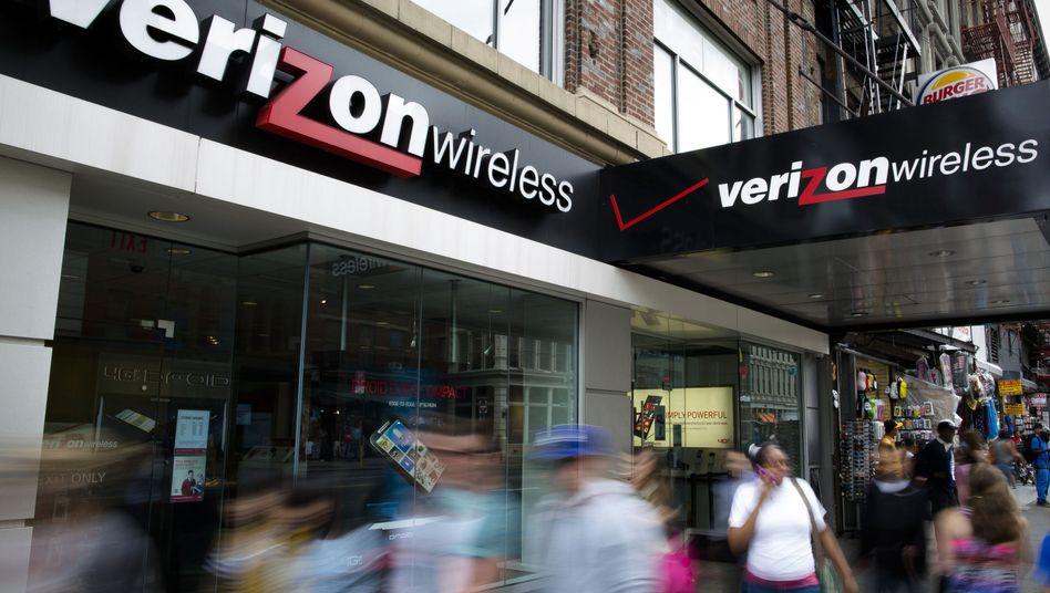 Verizon-Filiale in New York: Zu den Jahren vor 2013 wird nichts gesagt