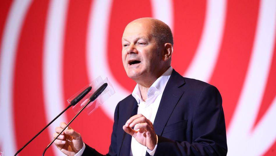 Olaf Scholz: Keine Stimmen für die AfD