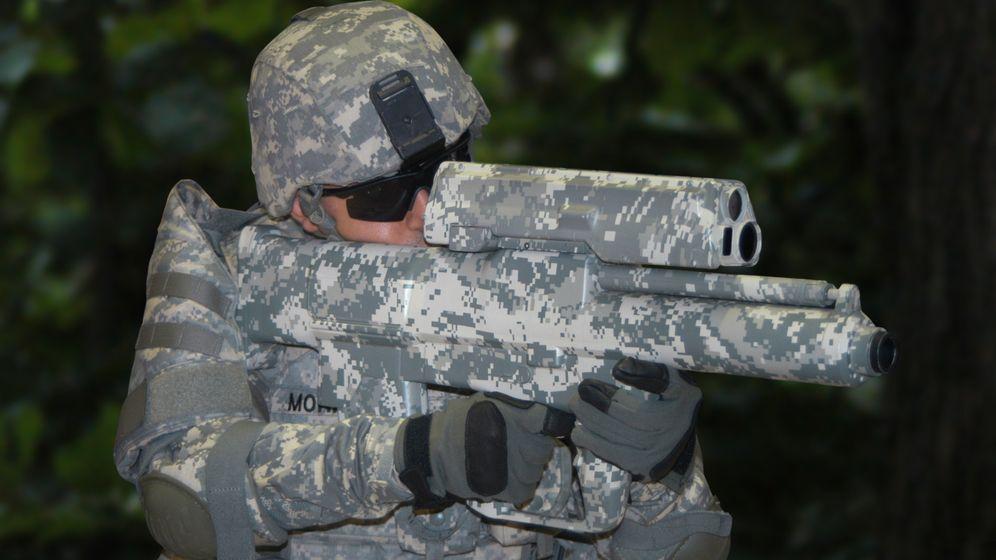 Hightech-Waffe: Programmierte Granaten