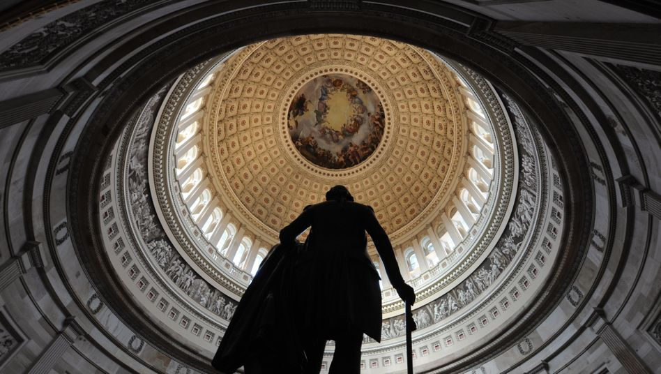 Kuppel des US-Kapitols: George Washington würde schaudern