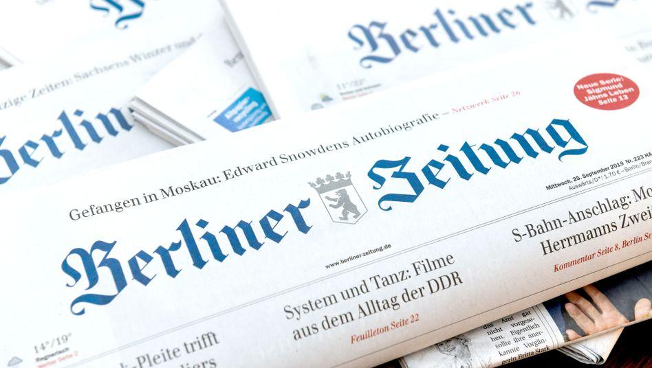 """Tageszeitung """"Berliner Zeitung"""""""