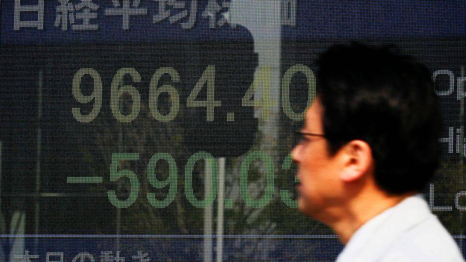 Börse in Tokio: Nikkei-Indexrutscht mehr als sechs Prozent ab