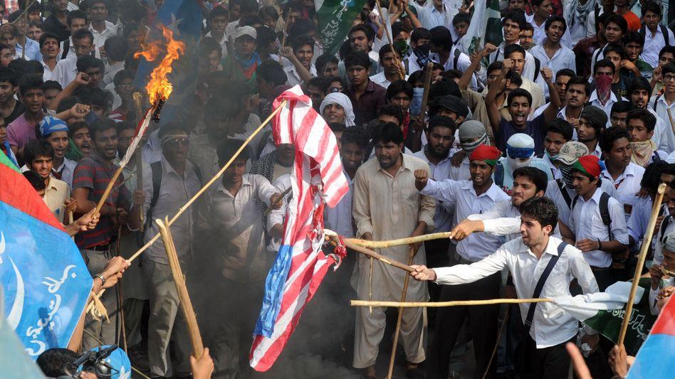 Pakistanische Proteste gegen Skandal-Video: Am Freitag große Demos angekündigt