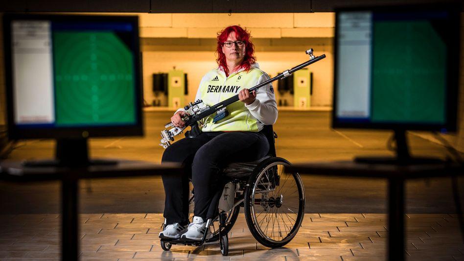 Paralympics-Teilnehmerin Elke Seeliger: jahrelang gedemütigt
