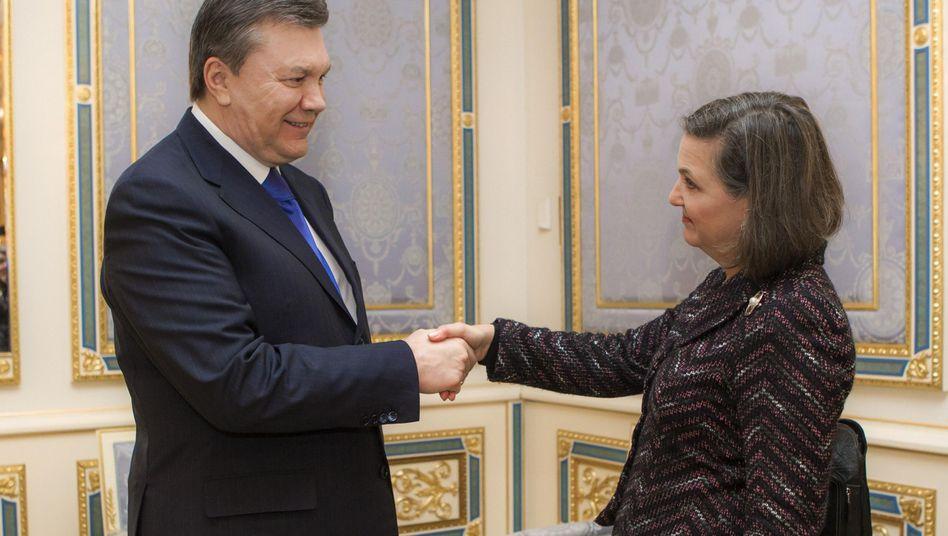 Janukowitsch und Victoria Nuland: Obamas wichtigste Europaberaterin