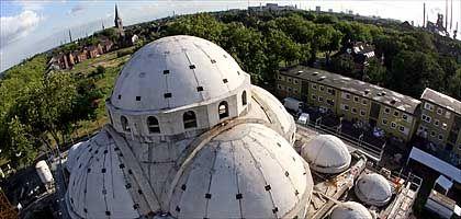 Merkez-Moschee in Duisburg-Marxloh: Kein Kirchturm höher als das Minarett