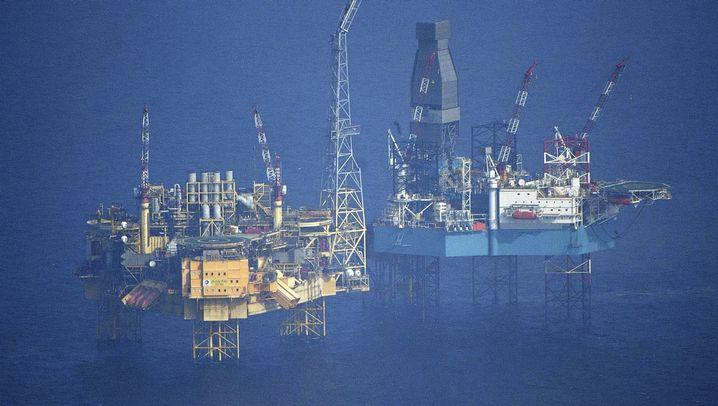 Elgin-Bohrinsel: Gasförderung außer Kontrolle