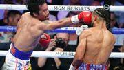 Pacquiao ist nun der älteste Weltergewichts-Weltmeister