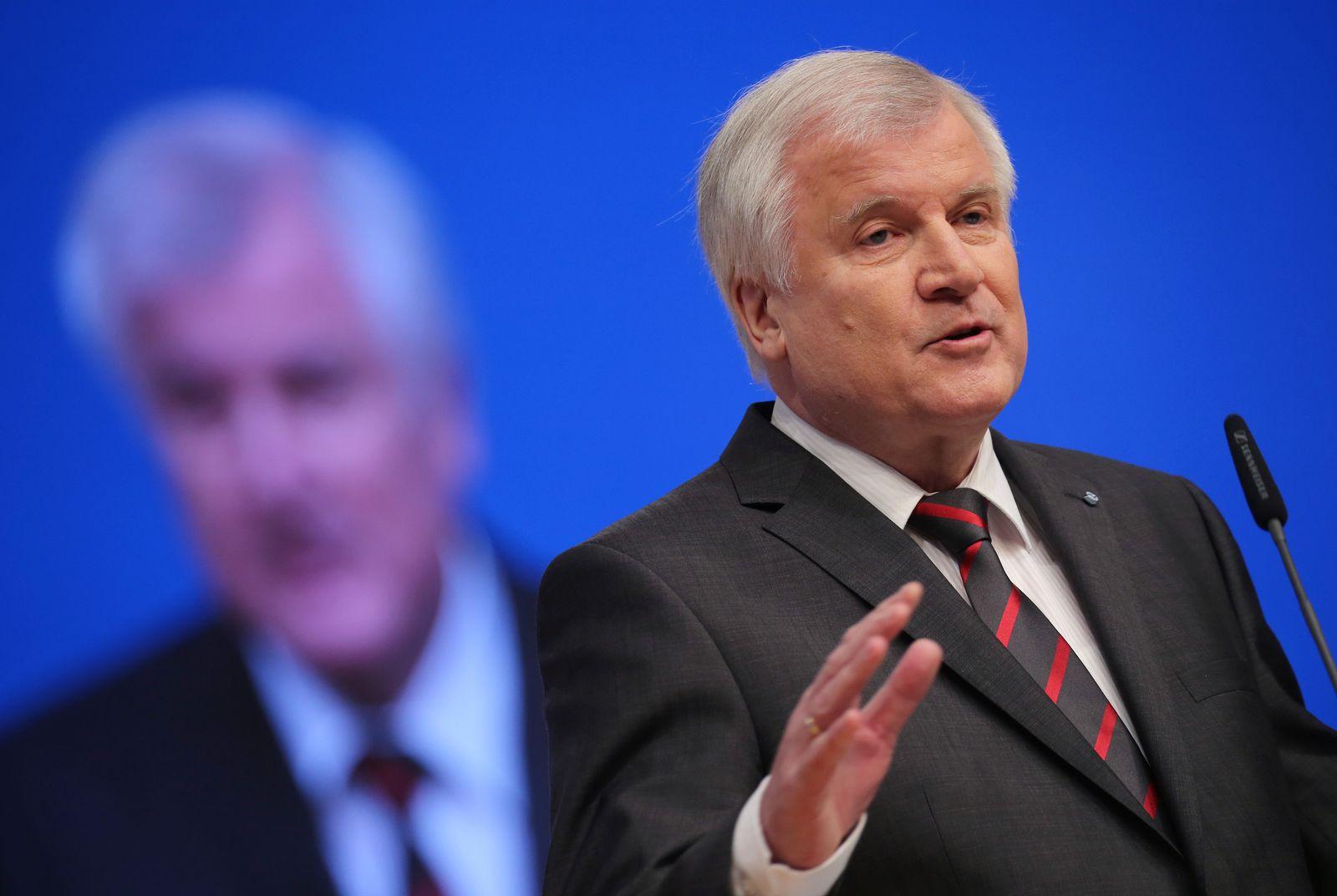 CDU-Bundesparteitag / Seehofer