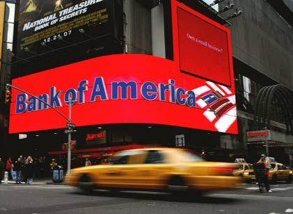 Bank-of-America-Filiale in New York: Das größte US-Kreditinstitut will 35.000 Mitarbeiter entlassen