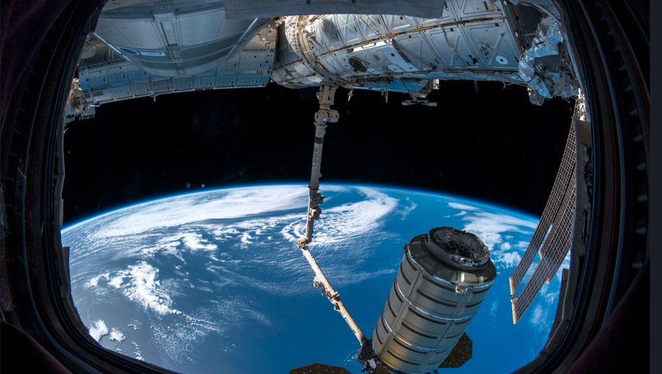 Blick aus der Internationalen Raumstation (Archivbild)