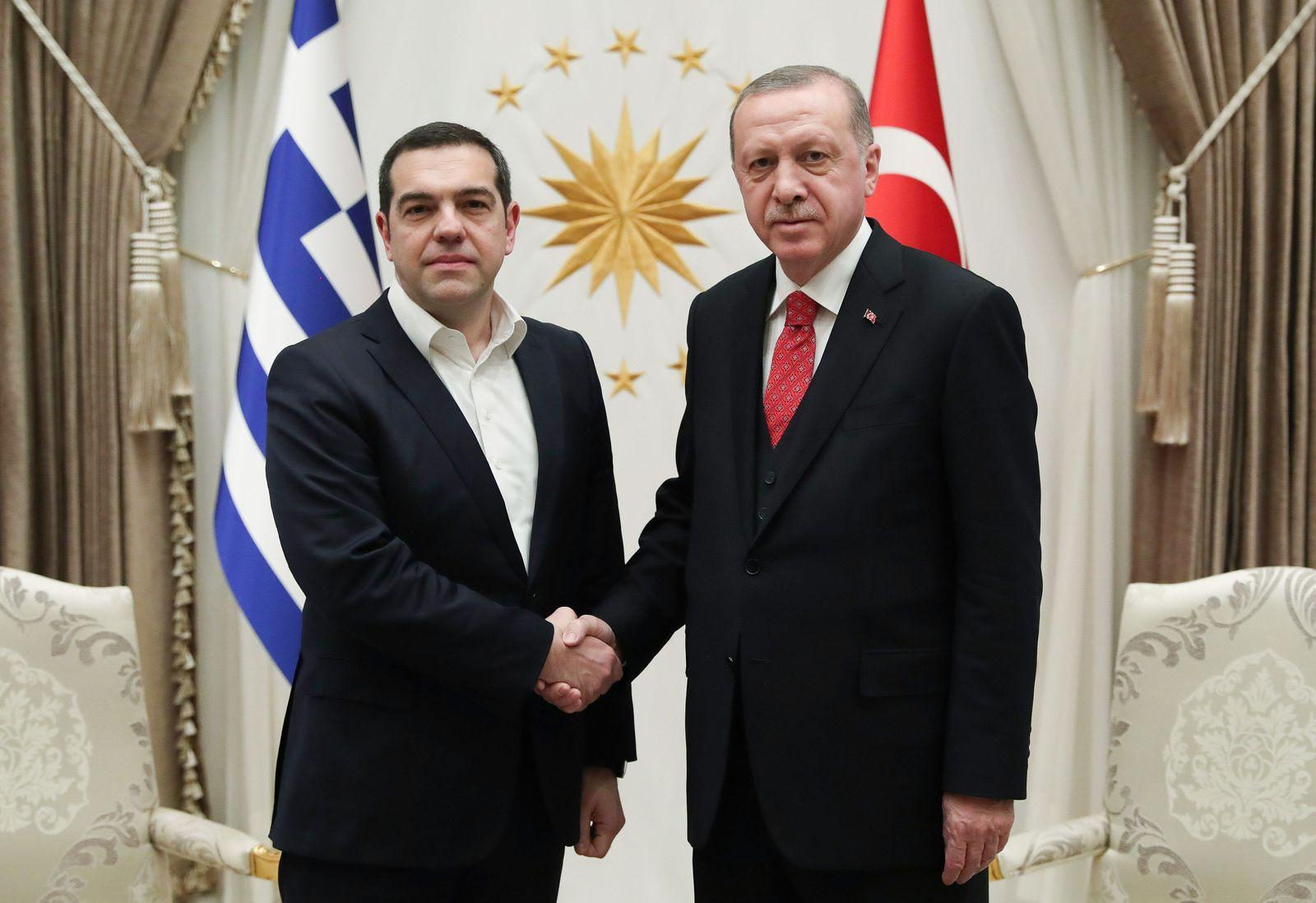Alexis Tsipras/ Recep Tayyip Erdogan