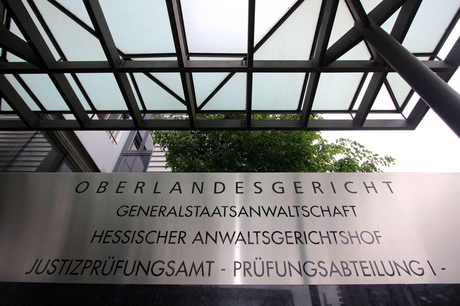 EINMALIGE VERWENDUNG Frankfurt/ Generalstaatsanwaltschaft