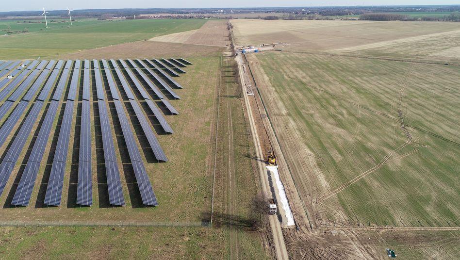 Solarpark in Werneuchen östlich von Berlin: 250 Megawatt ohne Zuschüsse 2020