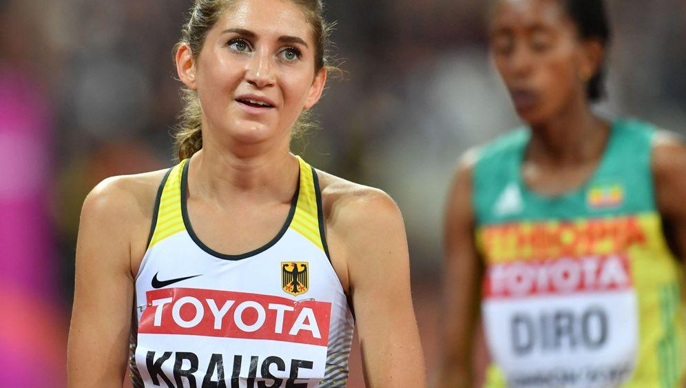 Krause-Sturz beim 3000-Meter-Hindernis: Erhobenen Hauptes ins Ziel