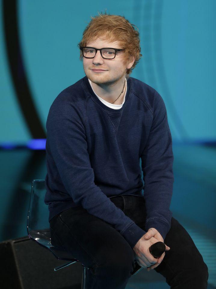 Ed Sheeran: Selbst seine Haarfarbe wurde zum Trendgespräch