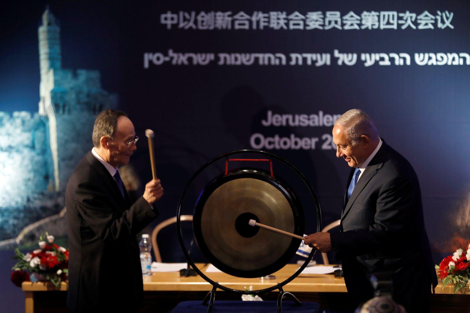 Israel/ Qishan/ Netanyahu