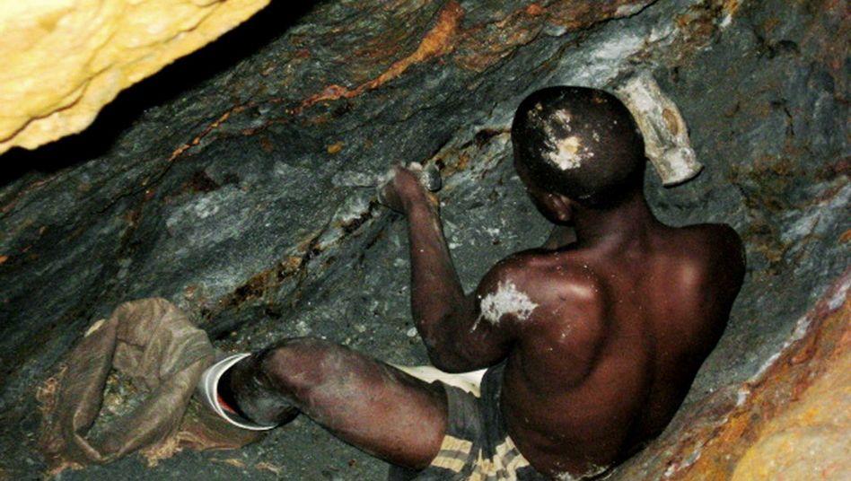 Minenarbeiter in der Kivu-Region, Kongo (Archivbild)
