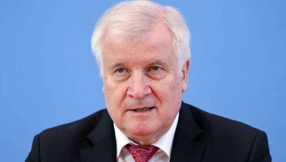 Bundesinnenminister Horst Seehofer (CDU) im Mai 2020