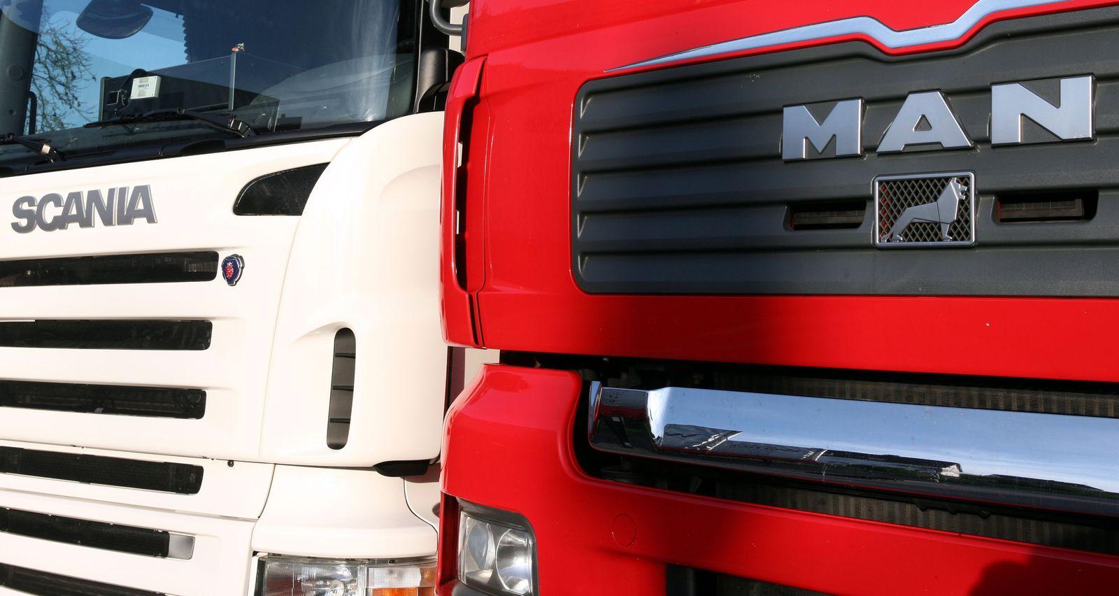 Scania / MAN / Lkw / Lkws / Trucks