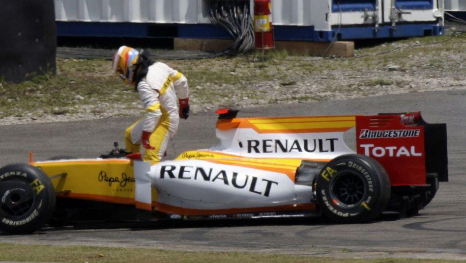 Renault-Rennteam: Fortsetzung des Engagements ungewiss