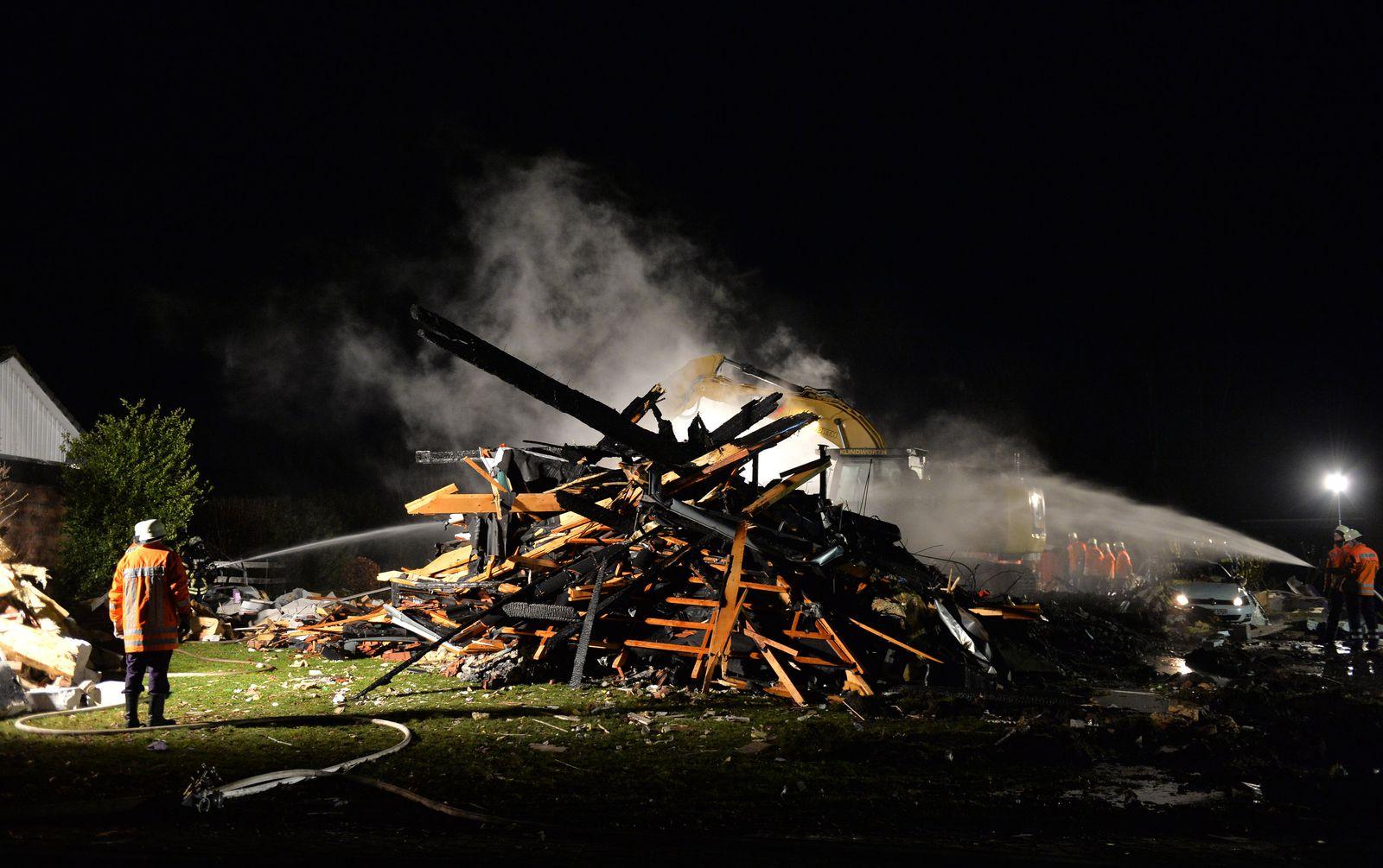 Kalbe / Niedersachsen / Explosion