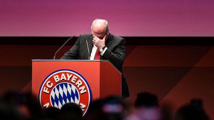 Bayern-Jahreshauptversammlung: So lief der Hoeneß-Abschied