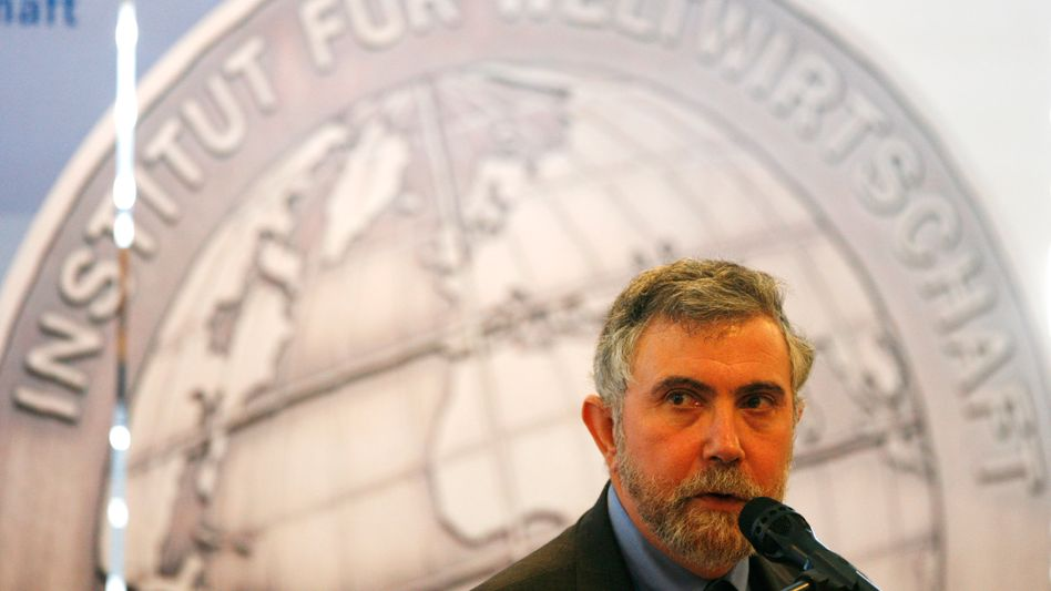 Nobel laureate economist Paul Krugman says that Germany has started down the path of austerity way too soon.