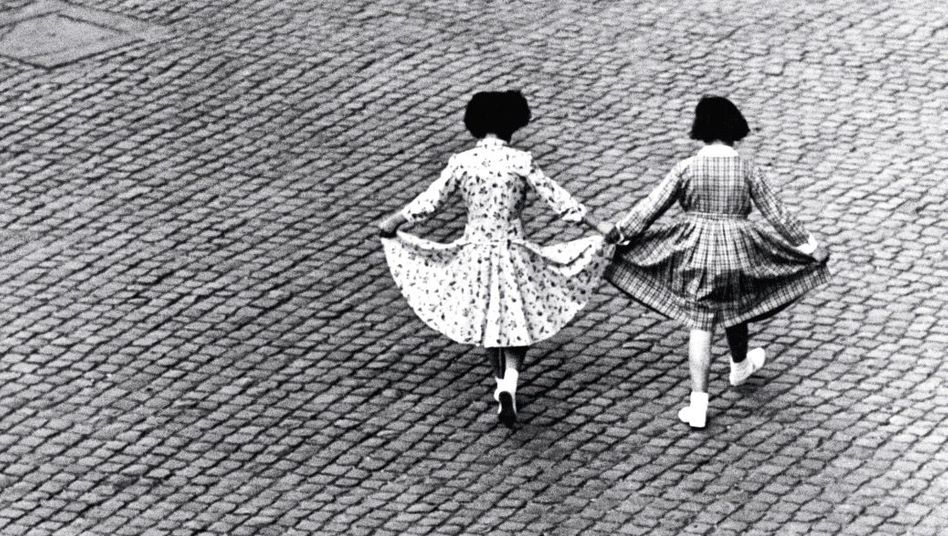 Freundinnen in Rom 1953