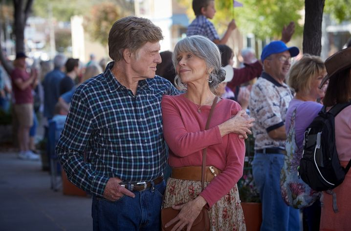 "Robert Redford und Jane Fonda in ""Our Souls at Night"""