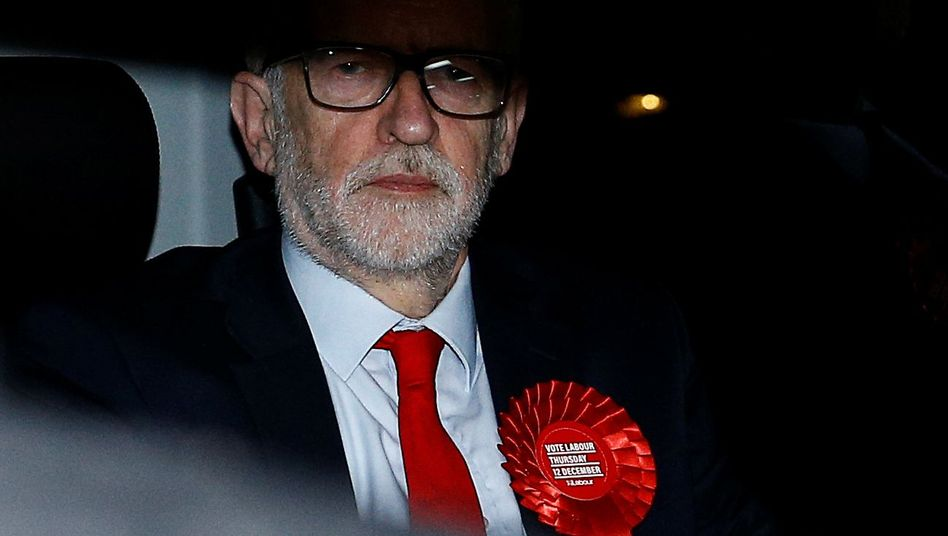 Labour-Chef Jeremy Corbyn nach der Wahl: Abschied einer umstrittenen Kultfigur