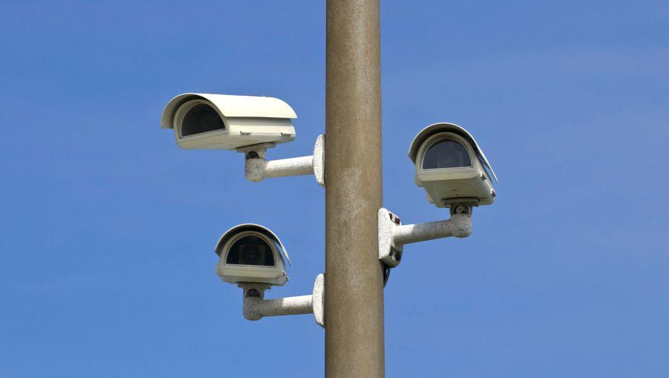 Überwachungskameras: Dürfen nicht einfach überall angebracht werden