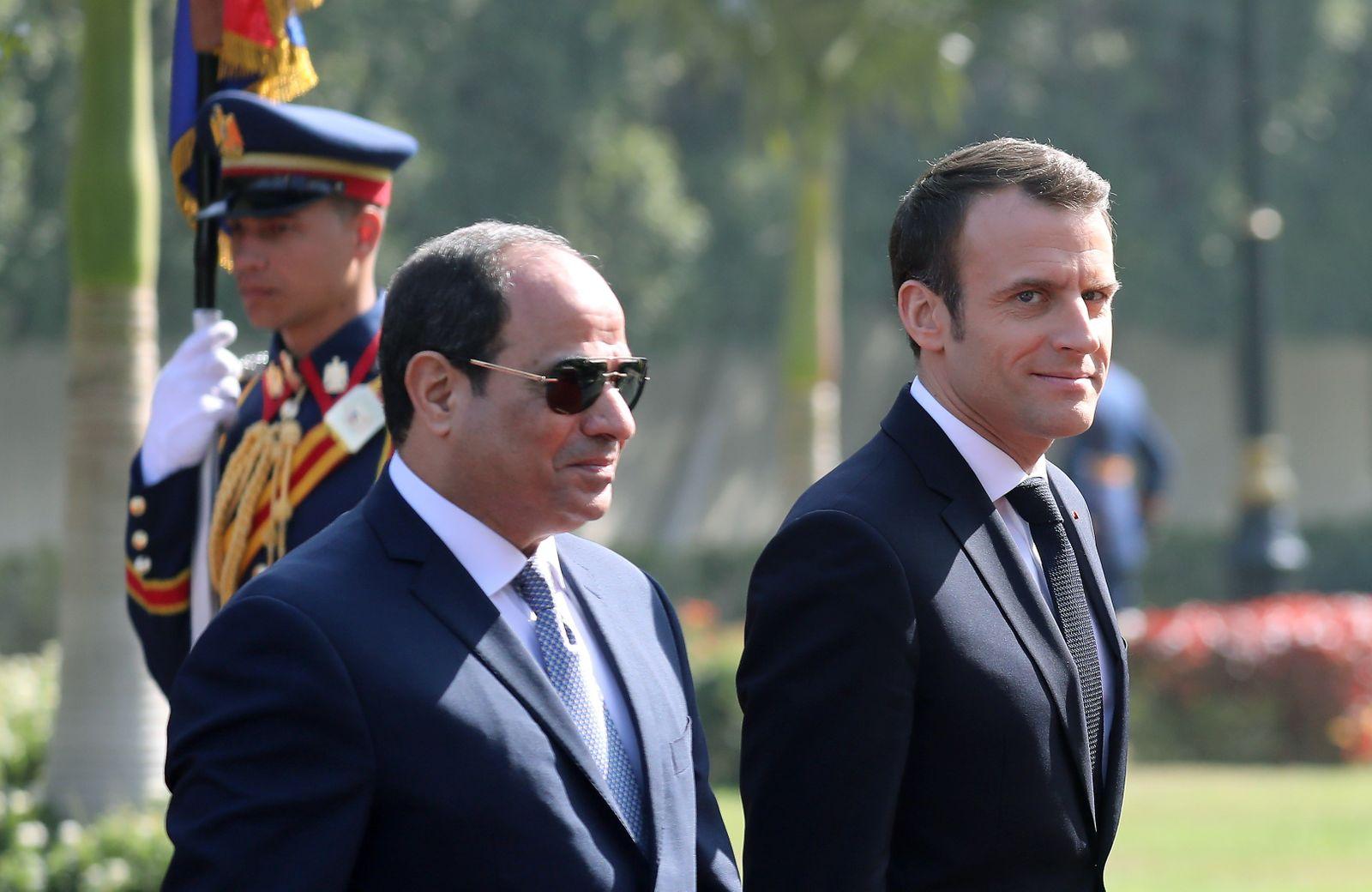 EGYPT-FRANCE-DIPLOMACY